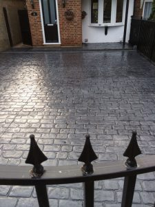 Cheshire Cobble Pattern Print Driveways in Welwyn Garden City